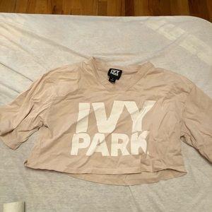 IVY PARK crop top